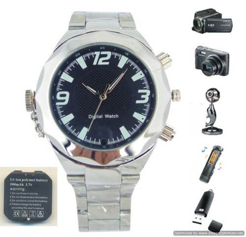 LATEST SPY WATCH CAMERA FOR LONG RECORDING IN DELHI INDIA