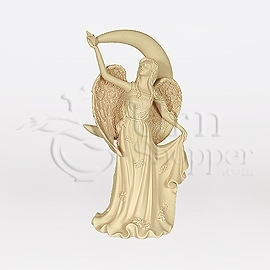 Starlight Moon Angelic Comfort Figurine