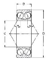3217 Double Raw Bearing