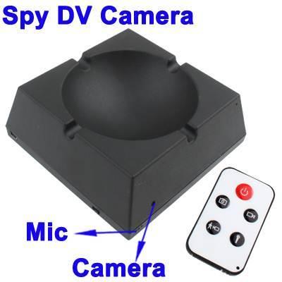 SPY HIDDEN ASHTRAY CAMERA 20 HOURS RECORDING IN DELHI INDIA