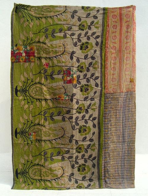 kantha stitch quilts