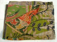 leaves Kantha Quilts