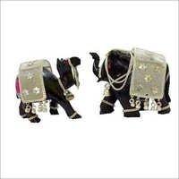 Elephant Wooden Craft