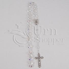 Lourdes Clear Crystal Rosary