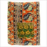 Vintage Kantha Quilt Cotton