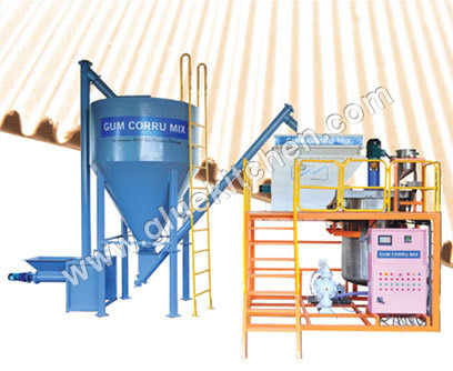 Automatic Starch Kitchen Glue Mixing System