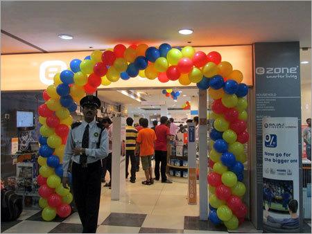 Ballon Decoration Of Mall