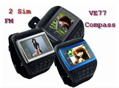 Watch Mobile Phone Double Sim