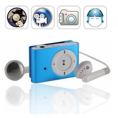 Spy Mp3 Player With Camera