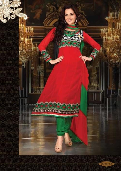 Designer Anarkali Style Suit