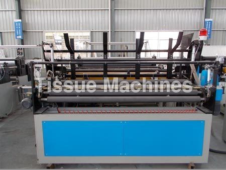 Fully Automatic Toilet Roll Log Rewinder Machines