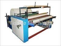 Toliet Paper Roll Log Rewinder Machine