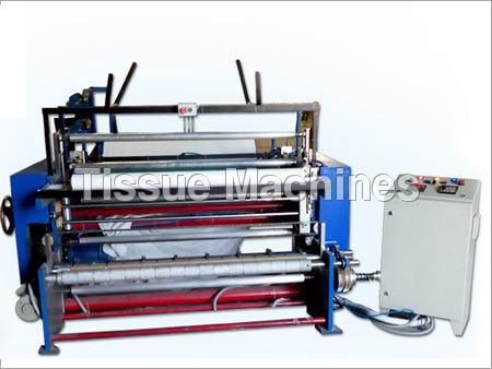 Toilet Roll Machine with GRD attachment
