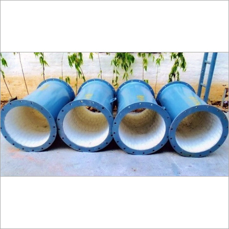 Alumina Ceramic Lined Straight Pipe