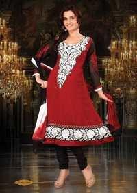 Georgette Anarkali Salwar Kameez