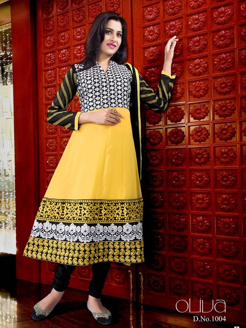 Pure Georgette Anarkali Suit