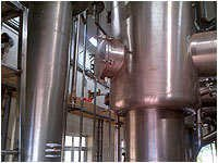Large Scale Evaporators