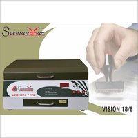 230 Ac Rubber Stamp Machine, Capacity: 50 To 70 Stamps, Automation Grade: Semi-Automatic