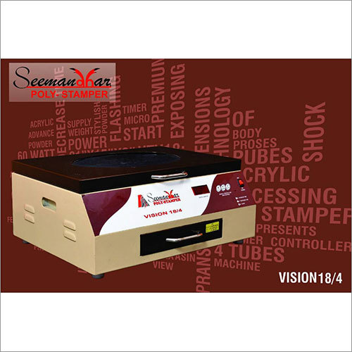 18/4 Polymer Stamp Machine