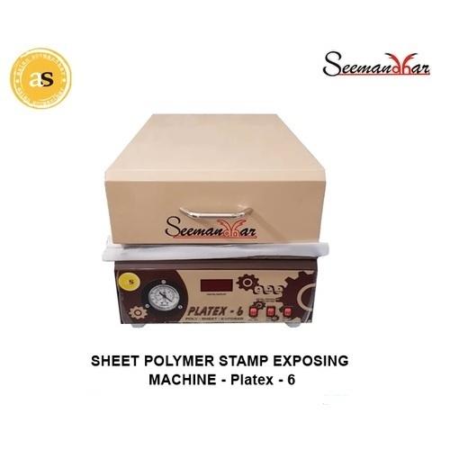 Sheet Polymer Stamp Machine