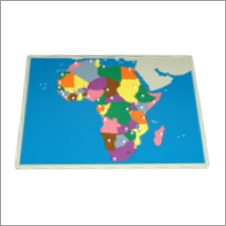 Puzzle Map of Africa