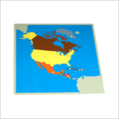 Puzzle Map of North America