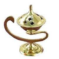 brass metal incense stand