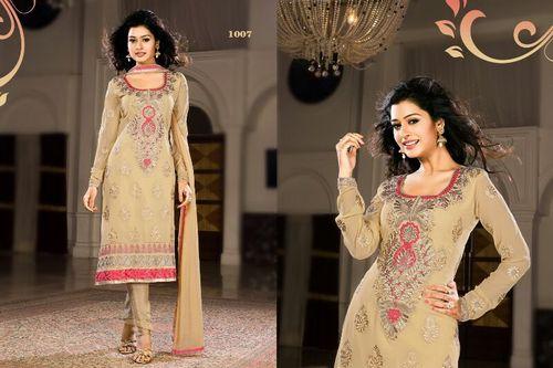 Beige Color Stylish Salwar Kameez