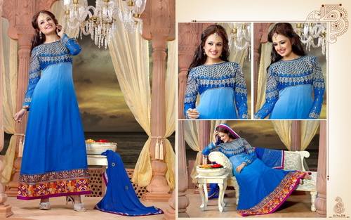 Long Anarkali Salwar Suit
