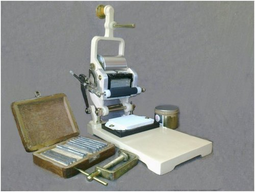 Mini Printer Hand Pressing Machine