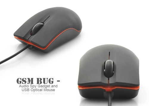 SPY GSM BASED COMPUTER OPTICAL MOUSE BUG IN DELHI INDIA