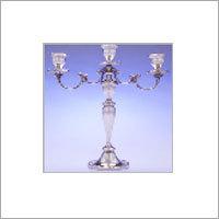3 Light Crystal Candelabra