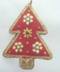 Designer Zari Christmas Tree