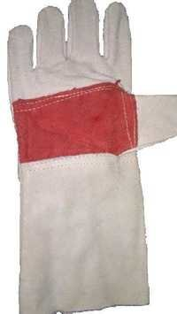 Leather Gloves Red Palm