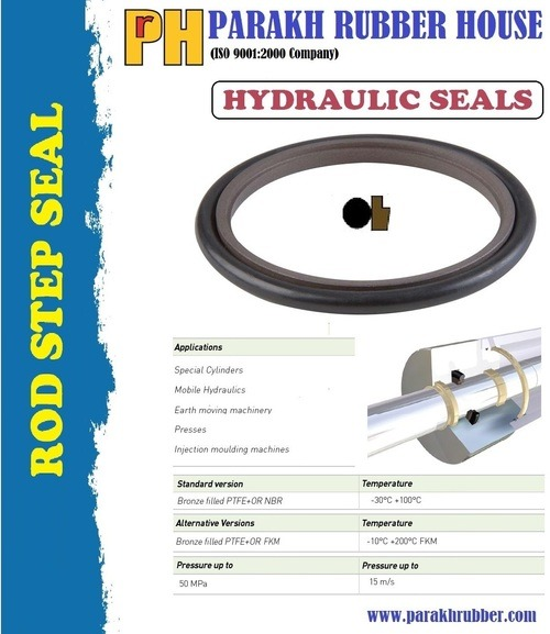 PISTON GLYD RING & ROD STEP SEALS