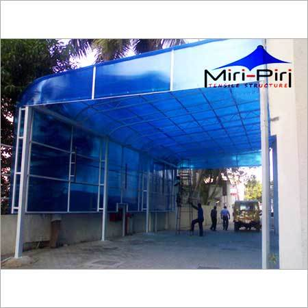 Entrance Polycarbonate Structures