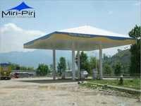 Prefabricated Petrol Pump Canopies
