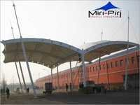 Prefabricated Toll Plaza Canopy