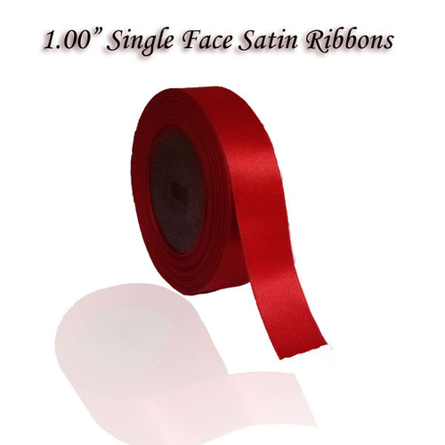 "1.00"" Single Satin Ribbons"
