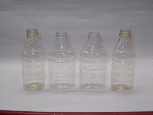 round and oval bottles