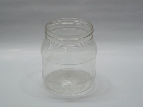half kg round pet jar