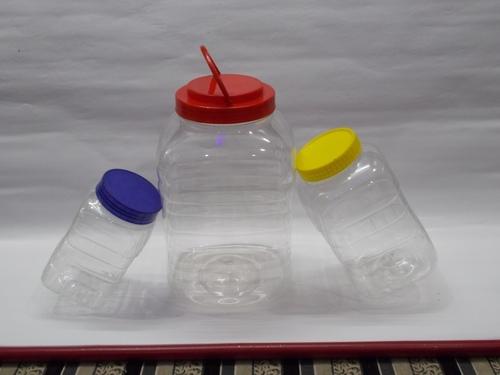 pet jars with caps