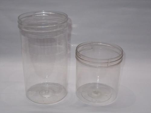 round pet jars