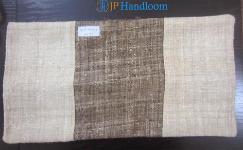 Tussar Silk Stripe Cushion Cover