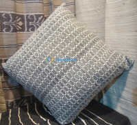 Silk & Cotton blend cushion cover