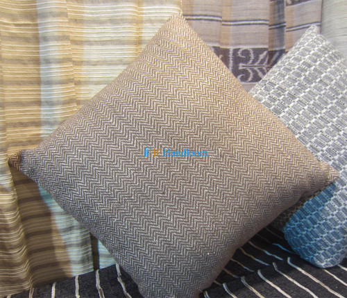 Designer hand woven cushion cover