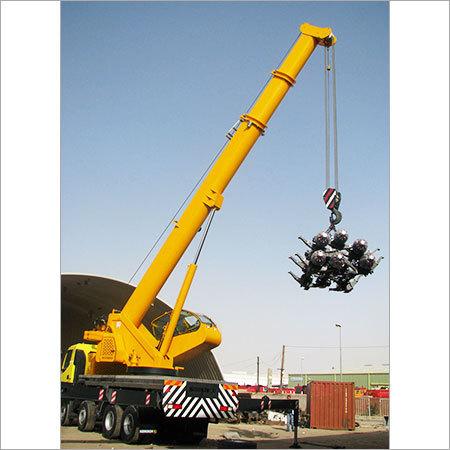 Truck Mounted Crane Rental