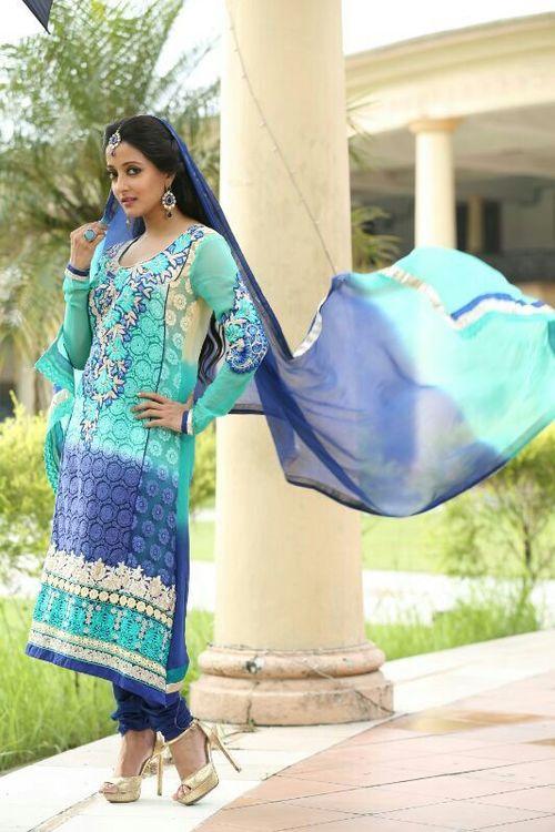 Ultimate Blue Salwar Kameez