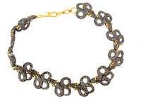 Diamond Ruby Gold Bracelet