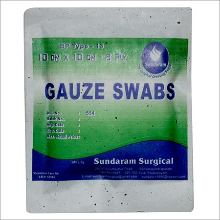 Plain Gauze Swabs
